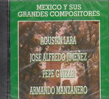 Agustin Lara Jose Alfredo Jimenez  Mexico Y Sus Grandes Compositores CD New