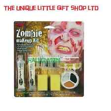 Halloween - Special Effects Makeup - Zombie Man horror kit