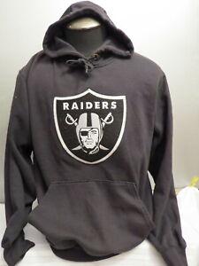 Los Angeles Raiders Hoodie - By VF Imagewear - Large Crested Logo - Men's Medium
