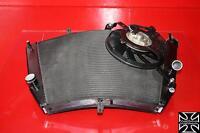 08 2008 SUZUKI GSXR600 ENGINE RADIATOR MOTOR COOLER COOLING RADIATER + FAN