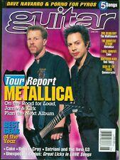 1997 Guitar Magazine: Metallica Tour Report/Cake/Robert Cray/Satriani & New G3
