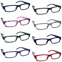 Reading Glasses Mens Womens Lightweight Designer Style UV Reader UVR32