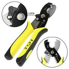 """7"""" Multi-function Electric Cable Wire Cutter Stripper Crimper Plier Hand Tool 1."""