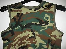 Herren Shirt Gr.54 Mehrfarbig-Uniformfarben,Ärmellos,100%Baumwolle