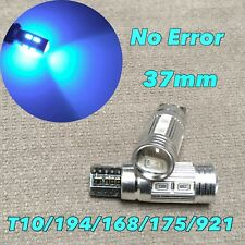 PARKING LIGHT T10 LED ICE BLUE No Canbus Error w5w 168 194 10 SMD for Toyota L