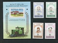 ANTUGUA & BARBUDA--2  1st Day Covers, Souvenir Sheet & Complete Set