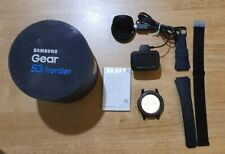 Samsung SM-R760 Gear S3 Frontier Stainless Steel Smartwatch - Black