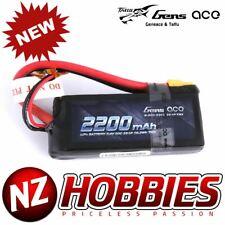 Gens ace 2200mAh 7.4V 50C 2S1P Lipo Battery Pack with XT60 plug