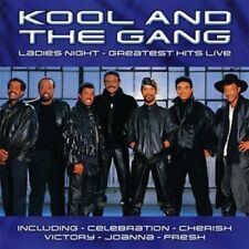 Kool & the Gang Ladies' night-Greatest hits live (13 tracks)  [CD]