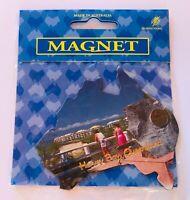 Hervey Bay Queensland Beach View Australia Souvenir Magnet Vintage (K13)