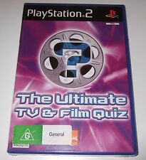 PS2 - THE ULTIMATE TV & FILM QUIZ (Sony PlayStation 2) - new, sealed