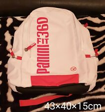 White & Red Panini Backpack new!
