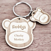 Personalised Christmas Gifts For Daddy Grandad Mummy Nanny Keyring Presents K10