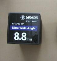 NEW 8.8mm MEADE series 5000 UWA ultra wide angle 82 degree telescope eyepiece