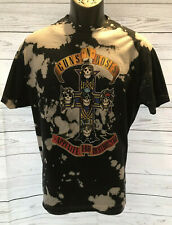 Guns And Roses Appetite For Destruction Shirt Tie Dye Black Soft XL