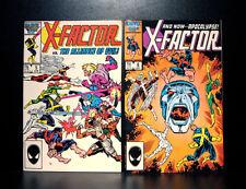 COMICS: Marvel: X-Factor #5-6 (1986), 1st Apocalypse app - RARE