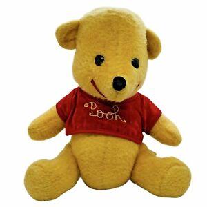 "Vintage Winnie The Pooh Plush Stuffed Animal Walt Disney Distributing Co 13"""