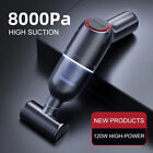 8000Pa Car Vacuum Cleaner Suction Cordless Handheld Rechargeable Portable Duster