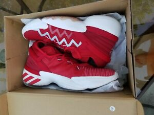 adidas Mens D.O.N Issue 2 Donovan Mitchell Basketball Shoes Red FW8511 Size 14