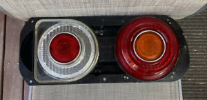DATSUN-NISSAN 72-77 SKYLINE (C110) 240K GT COUPE GENUINE COMPLETE RHS TAIL-LIGHT
