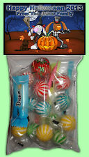 Personalised Halloween Lolly Bags Set of 8 - Party Loot favour - Trick or Treat