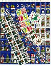 1969-81 U.S. National Christmas Seal Collection, As Required