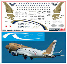 1/144 PAS-DECALS.Rus-Air.laser decal Embraer E-170 GULF AIR