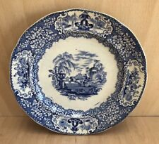 J & MP Bell & Co Glasgow Pottery 'Triumphal Car' Pattern Dinner plate c1860,