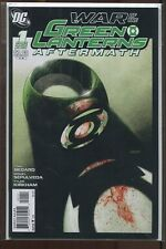 WAR OF THE GREEN LANTERNS AFTERMATH #1&2 NEAR MINT COMPLETE SET 2011