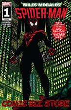 MILES MORALES SPIDER-MAN #1 (2018) 1ST PRINTING STELFREEZE MAIN COVER MARVEL