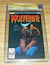 Wolverine #3! (1982) Signed by Len Wein! CGC SS Graded 6.5!