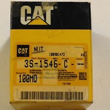 Oem Caterpillar Hex Nuts Phospahate and Oil Coated 3S-1546 Box of 20 Nuts