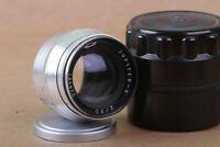 JUPITER 8 2/50 Silver Rangefinder Russian Lens for M39 L39/ Leica FED Zorki