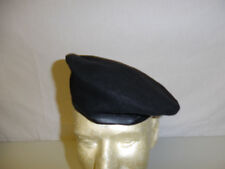 b2597-AN RVN Vietnam and US  Black Beret Size 58 with label AN-Thanh Saigon W8B