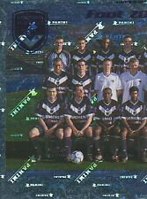 N°050 EQUIPE TEAM 1/2 GIRONDINS BORDEAUX VIGNETTE PANINI FOOTBALL STICKER 2002