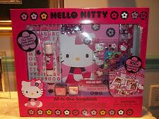 Hello Kitty All-In-One Scrapbook ~ Over 300 Scrapbooking Essentials NEW!!!