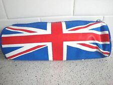 UK Flag pencil case Union Jack U.K. England school NEW punk bag purse