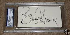 Lance Armstrong COMEBACK Signed 3x5 Index Card PSA/DNA