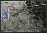 Italia 1966 Cartolina Maximum 100% Firenze Alluvione
