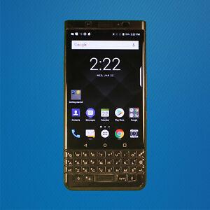 Good - BlackBerry KeyOne BBB100-7 64GB Black (GSM Unlocked - Dual SIM) Free Ship