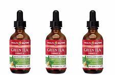 Green Tea Liquid - Green Tea Formula Drops - Metabolism Booster - 3 Bottles