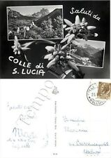 Cartolina saluti da Colle Santa Lucia, vedutine - Belluno