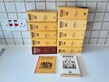 Wisden Cricketers Almanack Books Job Lot