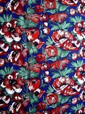 floral patchwork quilt Fabric Remnant 100% Cotton 134cm x 1.70m