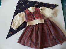 American Girl - Kirsten - Swedish Dirndl Outfit - Near Complete & Excellent