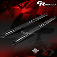 """BLACK 3"""" SIDE STEP NERF BAR RUNNING BOARD FOR 05-18 NISSAN FRONTIER CREW CAB"""