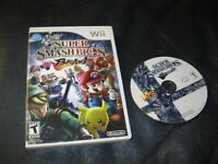 Nintedo Wii Super Smash Bros Brawl Game