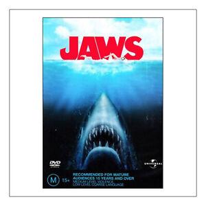 Jaws  DVD  Brand New Sealed Region 4 - Richard Dreyfuss, Robert Shaw - Free Post
