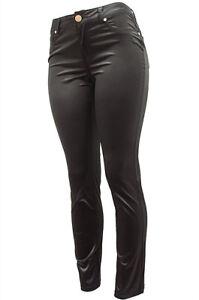 Skinny Stretch Cotton-Blend Sateen Pants size 3 ~ 13