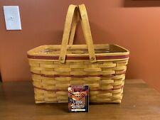 Longaberger 1997 Red Large Market Basket